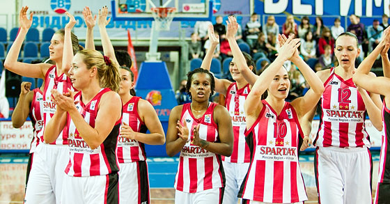 Sparta&K Moscow Region off to 2011 EuroLeague Women final four   © FIBA Europe