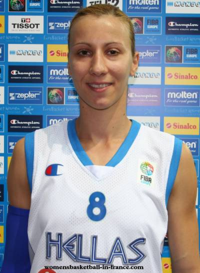 Styliani Kaltsidou at EuroBasket WOmen 2009 ©womensbasketball-in-france