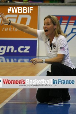 Sue Phillips at 2014 the FIBA  U17 World Championships