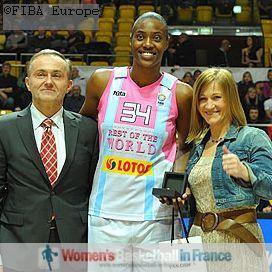 Sylvia Fowles ELW ASG MVP 2011  © FIBA Europe