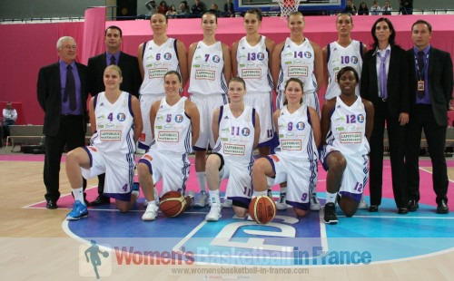 Tarbes 2010-2011 © womensbasketball-in-france.com