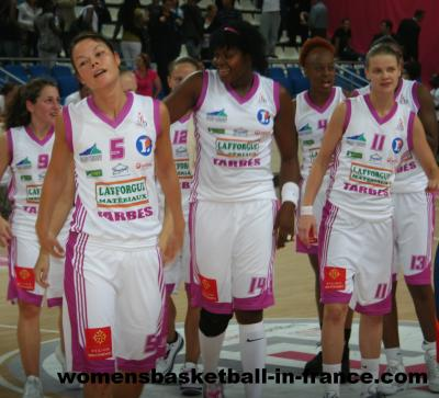 Tarbes win at Open LFB © womensbasketball-in-france
