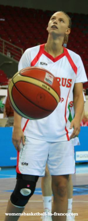 Tatyana Troina at EuroBasket Women 2009 © womensbasketball-in-france