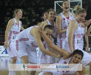 Turkey U20 players happy  with2013 U20 European Championship  for Women Division A in Samsun