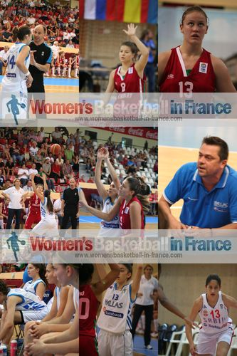 Hungary   U16 against Greece U16 in Miskolc © womensbasketball-in-france.com