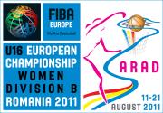 2011 U16 European Championship for Women Division B poster   © FIBA Europe