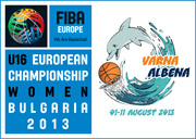 2013 U16 European Championship for Women Division A Logo