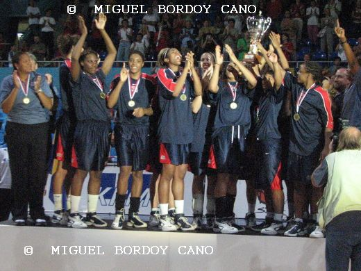 2007 FIBA U19 World championship for women winners - USA