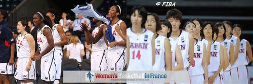 U19 World Championship Women 2013 quarter-final: USA vs. Japan