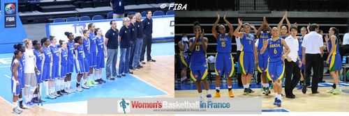 U19 World Championship Women 2013 quarter-final: France vs. brazil