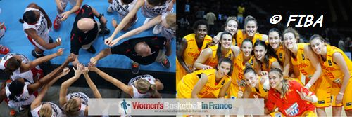 U19 World Championship Women 2013 quarter-final: Canada vs. Spain