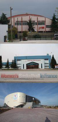 Atatürk Arena, Yaşar Doğu Arena and New Yaşar Doğu Arena