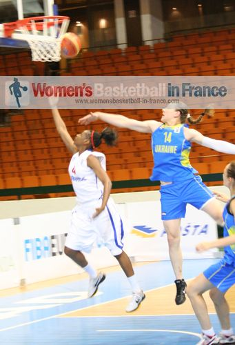 France U20 against Ukraine U20