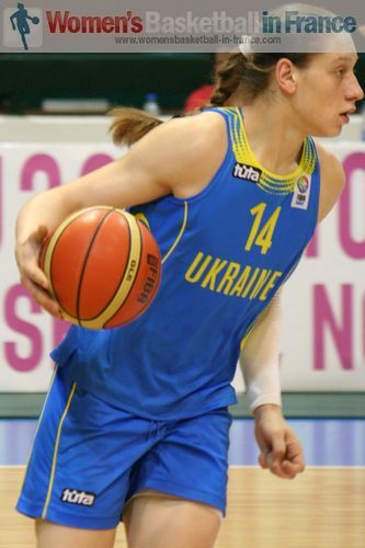 France U20 against Ukraine U20  - alina Iagupova