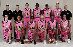 Union Basket 2008-20009 © Ligue Féminine de BasketBall