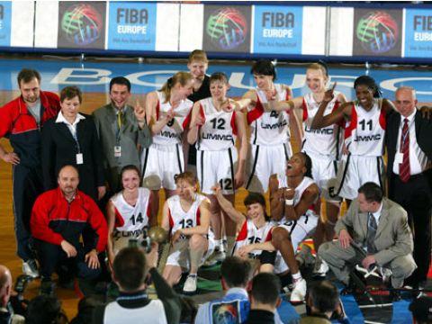 EuroLeague Women 2003 Winners UMMC_Ekaterinburg