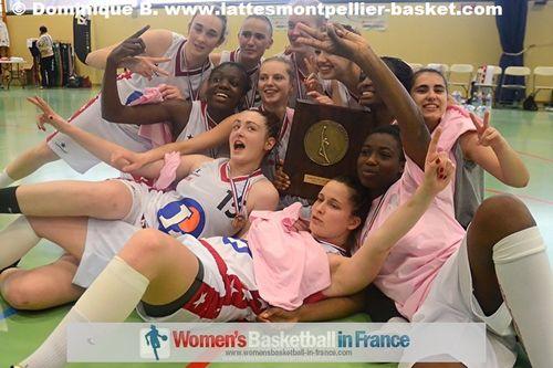 USO Mondeville win 2012 French U18 National Championship © Dominique B. - lattesmontpellier-basket.com