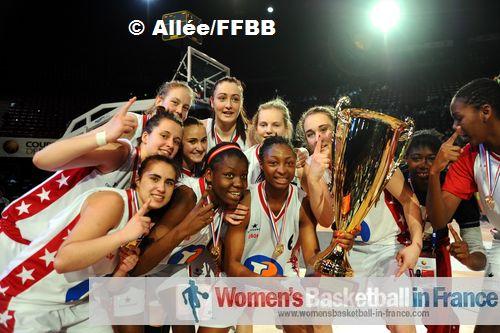 USO Mondeville -  2012 Cadettes Coupe de France winners © Allée/FFBB