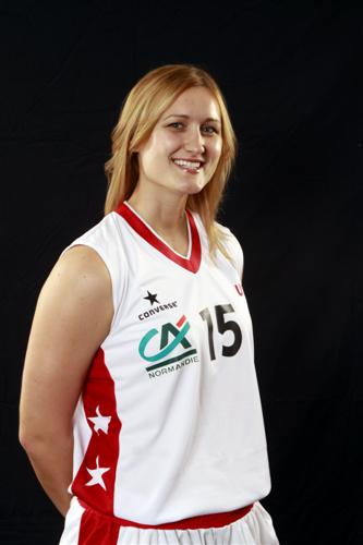 Valeriya Berezhynska © Ligue Féminine de Basketball