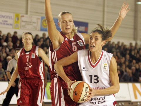 Yelana Leuchanka and Naura El Gargat - Fiba Europe
