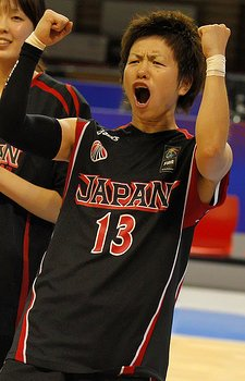 Yuko Oga at the 2010 FIBA World Championship for women © FIBA.com