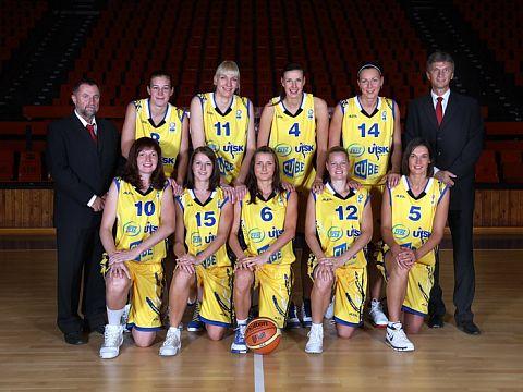 ZVVK USK Praha 2009-2010 © USK Basket