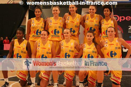 Aix-en-Provence 2012-2013:  Viviane Adjutor;Lisa Lefèvre, Kelly Corre, Shona Thorburn, Sylvie Gruszczynski, Adja Konteh , Lizanne Murphy, Natty Chambertin, Marianna Tolo, Cayla Francis