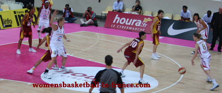 Open LFB match ©womensbasketball-in-france
