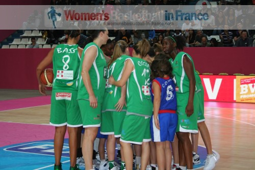 Basketball pictures from Paris  2010 LFB open