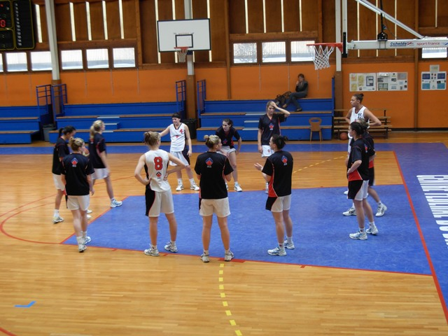 AIS 2009 Basketball at the home of the CFBB © FFBB