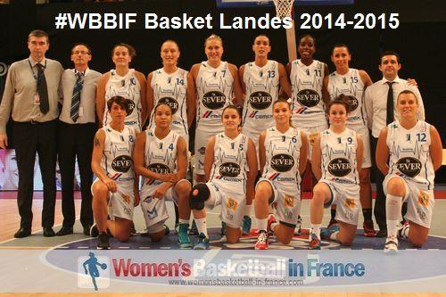 Basket Landes tean  picture 2014-2014