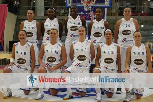 Basket Landes team picture 2011 © womensbasketball-in-france.com