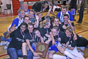 Basket Landes are NF1 champions 2007-2008