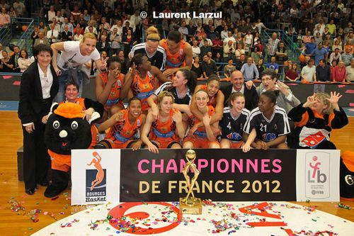 2012 French LFB Champions - Bourges Basket © Laurent Larzul