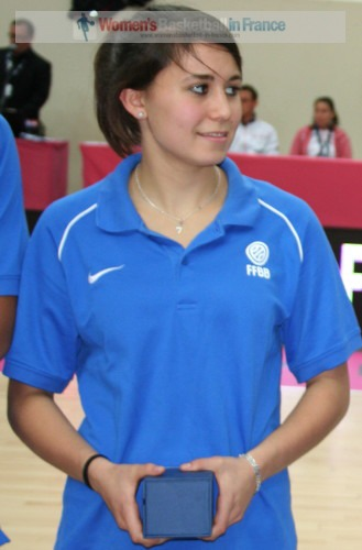 Céline Pfister © womensbasketball-in-france.com