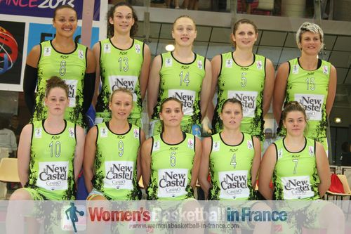 Challes-les-Eaux 2011-2012 team roster ©  womensbasketball-in-france.com