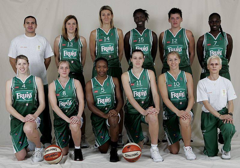 Challes-les-Eaux 2008 2009  © Ligue Féminine de BasketBall