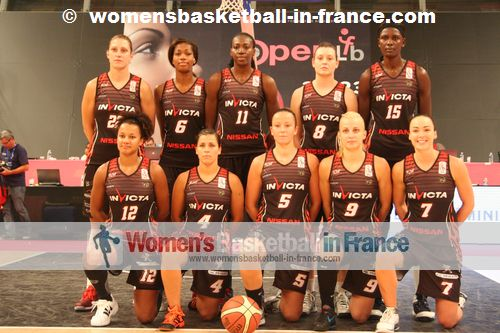 Flammes Carolo Basket Ardennes ASPTT team picture 2012-201 © womensbasketball-in-france.com