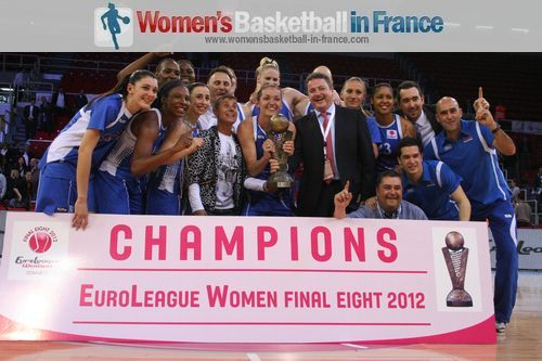 2012 EuroLeague Women Champions - Ros Casares © womensbasketball-in-france.com