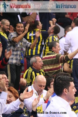 Fenerbahce supporters at Final 8