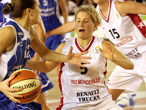 Caroline Aubert - FIBA Europe EuroLeague Women