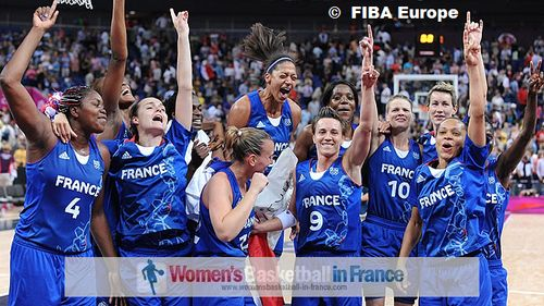 France qualify for the 2012 Olympic Games Gold medal Games © FIBA Europe