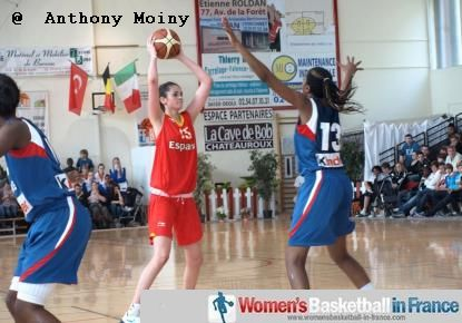 France U16 against Spain U16 - Poinçonnet © Anthony Moiny