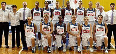 France 2005 EuroBasket Women Roster