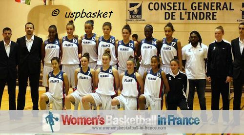 France U16 team picture in Poinçonnent