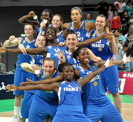 France U17 Women take the bronze medal at the U17 FIBA World Championships  © lattesmontpellier-basket.com