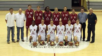 Illkirch Graffenstaden official team picture 2008-2009 © SIG Amateur