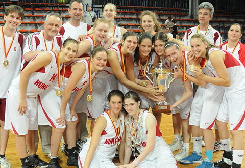 2010 FIBA Europe U16 European Champions - Hungary U16 win gold in Skopje   © FIBA Europe