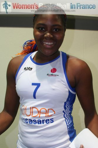 Isabelle Yacoubou-Dehoui © womensbasketball-in-france.com
