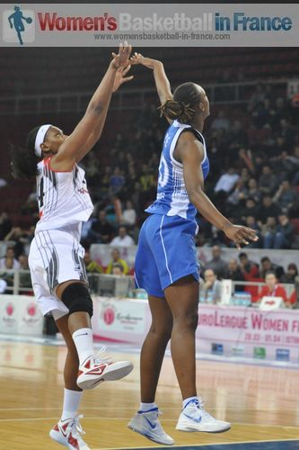 Asjiha Jones and Sancho Lyttle  © womensbasketball-in-france.com